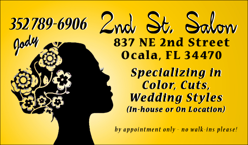 The 2nd St Salon (352) 789-6906